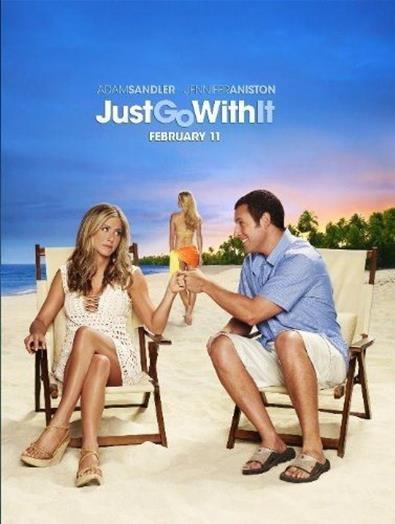 NEW - Just Go With It -- UNLIMITED SHIPPING ONLY $5